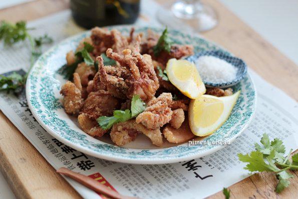 Calamar croustillant aux 5 épices