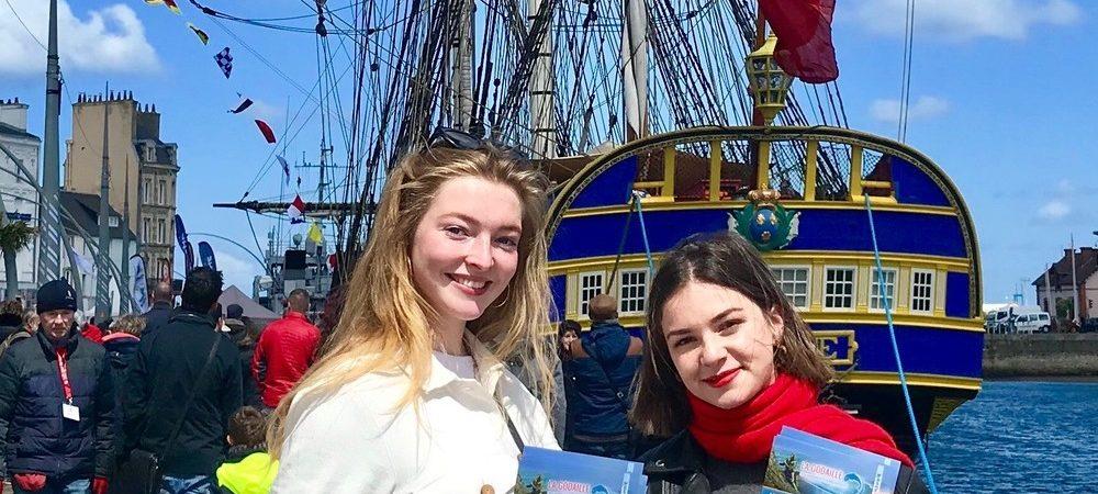 L'Hermione fait escale au port de Cherbourg !