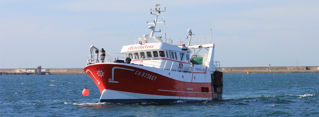 Bateau de pêche Mariblise