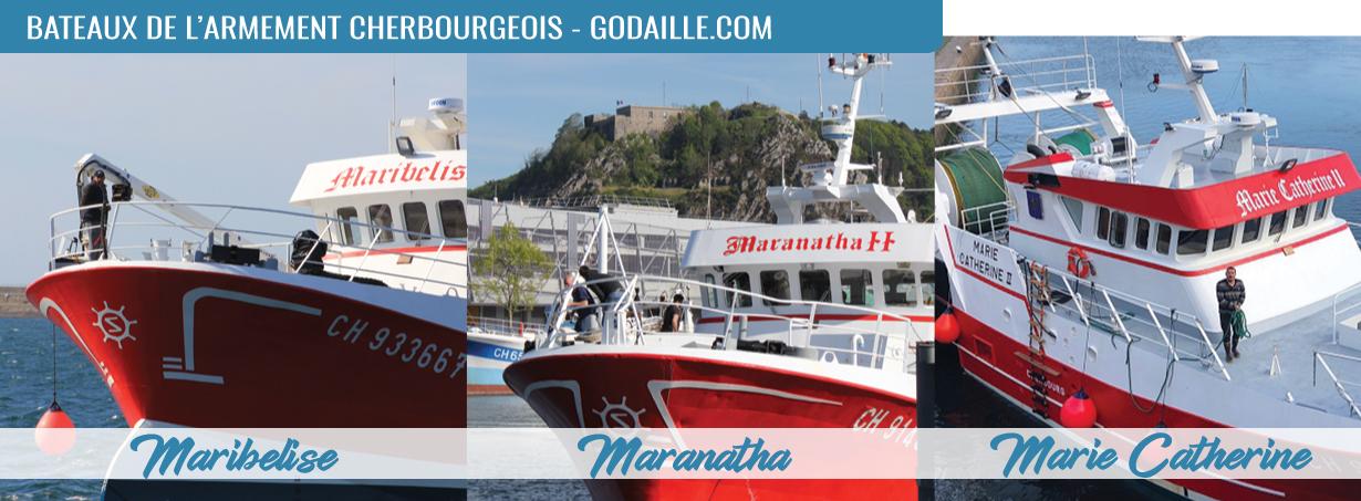 bateaux de l'armement cherbourgeois