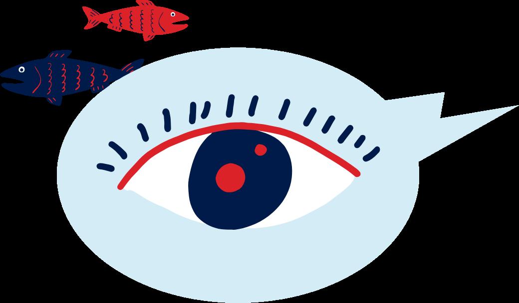 Le poisson améliore la vue