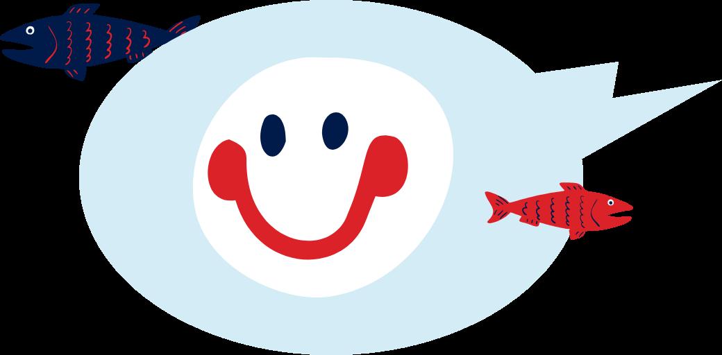 Le poisson rend heureux