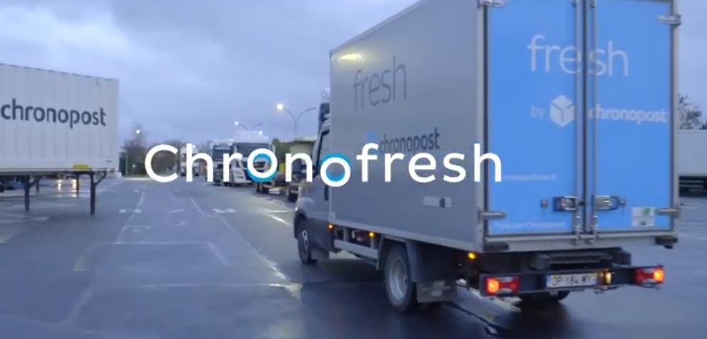 Découvrez l'acheminement de vos colis par notre partenaire Chronofresh